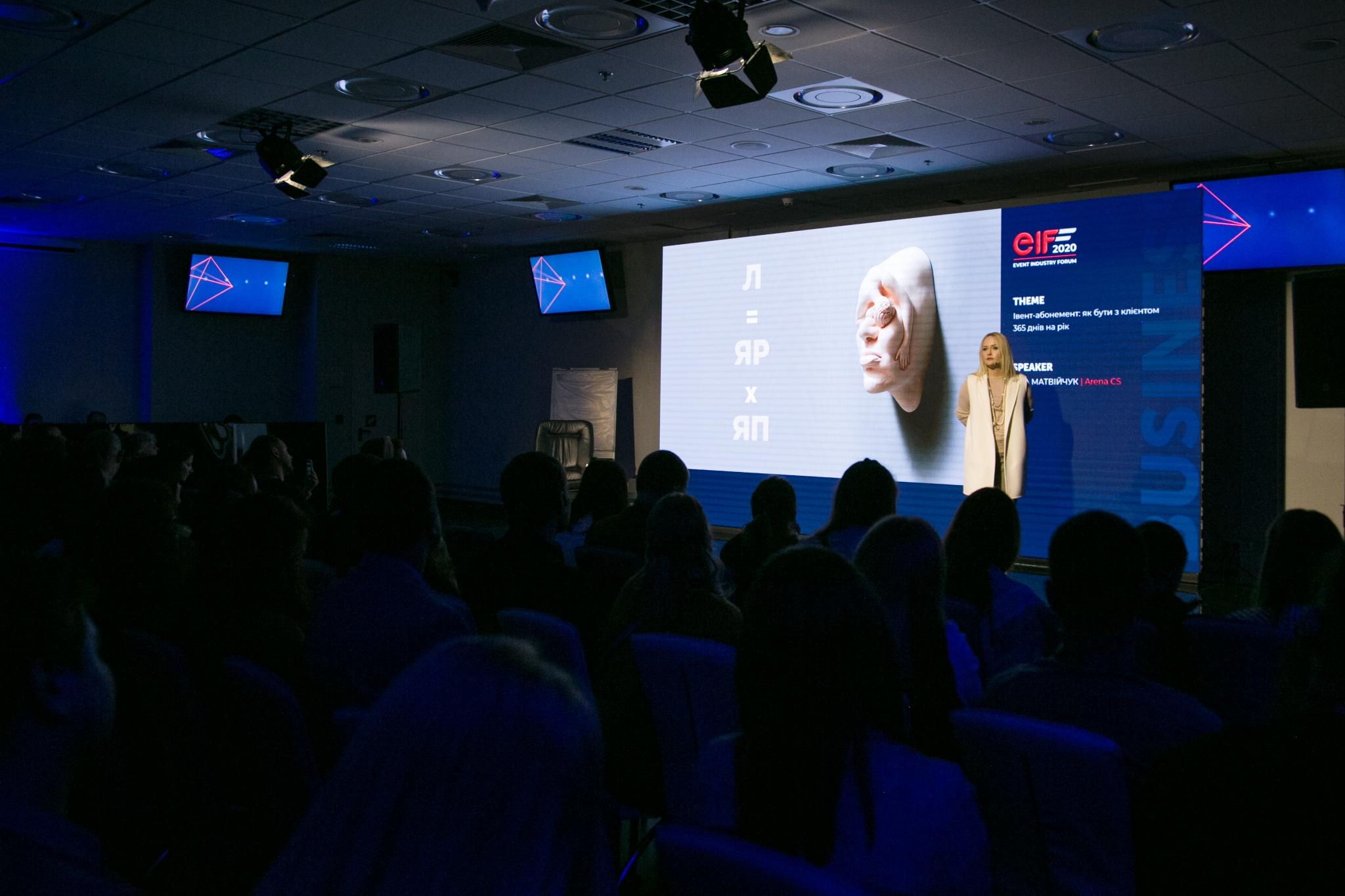 Яна Матвийчук на EIF-2020: часть вторая